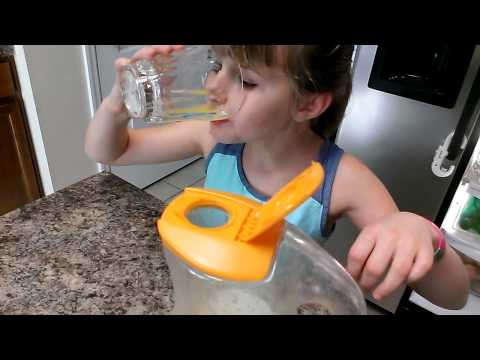 Learning To Pour Her Own Juice | Autism & Independence