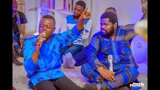 Jonathan yafu medley Autorité+bulelela avec le fr Emmanuel Musongo dans live mon coeur t'adore