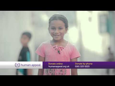 Eid Mubarak from the children of Gaza and Syria