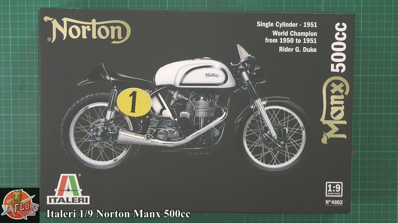 italeri 1 9 norton manx 500cc review youtube rh youtube com Minx Norton Manx Motorcycle