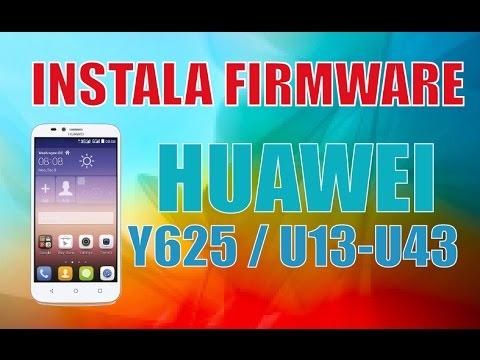 Instala Firmware Huawei Y625 - U13/U43 Dos versiones Revive tu celular muy facil