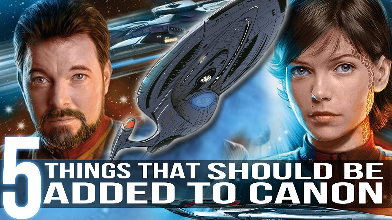 Download 5 Things That Should be Canon (Star Trek)