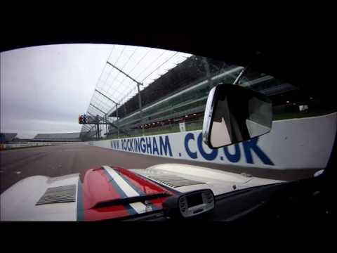 TSCC 2016 - Round 1 at Rockingham - Jaguar E-Type onboard
