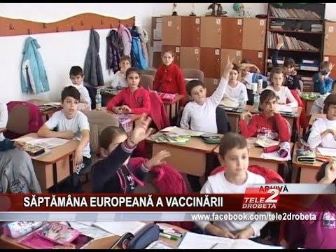 SĂPTĂMÂNA EUROPEANĂ A VACCINĂRII
