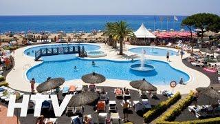 Hotel Tahití Playa en Santa Susanna