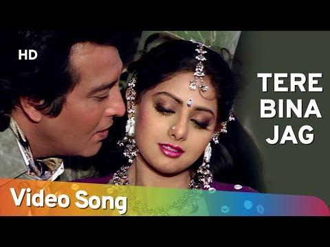 Tere Bina Jag   Farishtay (1991) Songs   Dharmendra, Vinod Khanna   Bappi Lahiri Hits