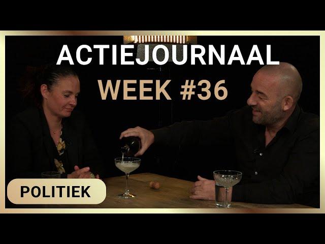 Actiejournaal week #36 - Martina Groenveld met Michel Reijinga