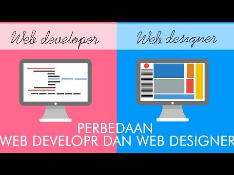 Perbedaan web designer vs web developer | motion graphic video | cumangitu tv
