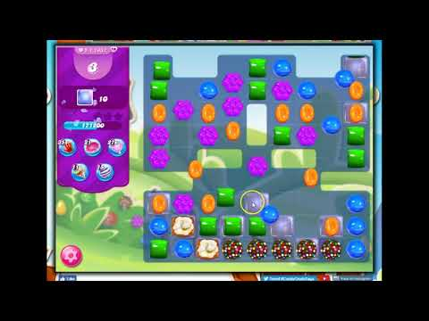 Candy Crush Level 1937 Talkthrough, 18 Moves 0 Boosters