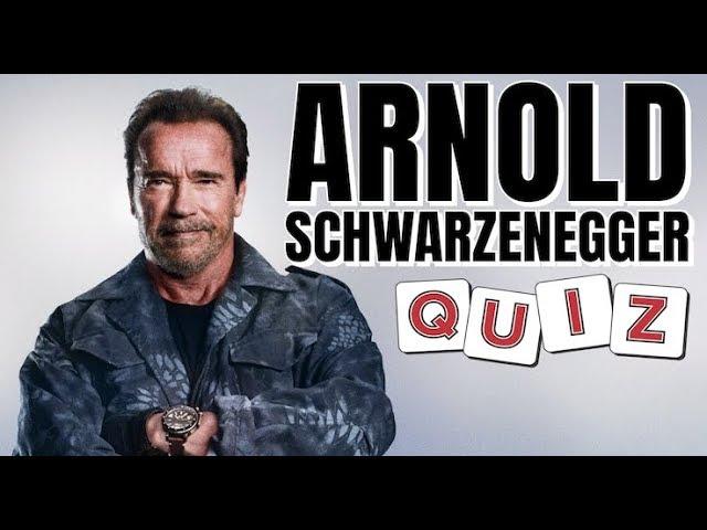 Arnold Schwarzenegger Quiz