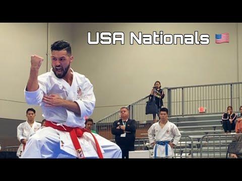 2019 USA KARATE NATIONALS - Ariel Torres Karate Vlog