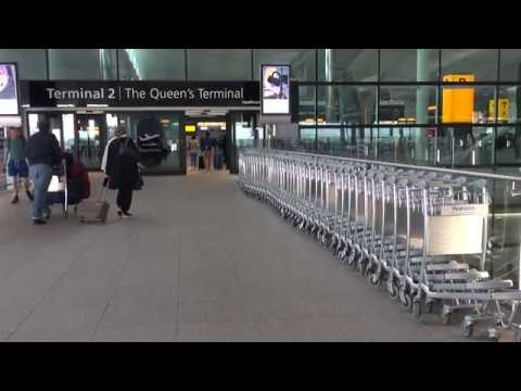 Four Minutes at Heathrow Airport, Terminal 2