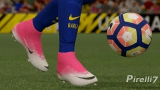 FIFA 17 New Boots: NEYMAR JR. GOALS & SKILLS 2017 ● Superfly 5 Motion Blur Pack | by Pirelli7