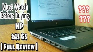 HP 245 G5 | Full Review of Specs || After 2 month of use | Best Budget Laptop from HP ?