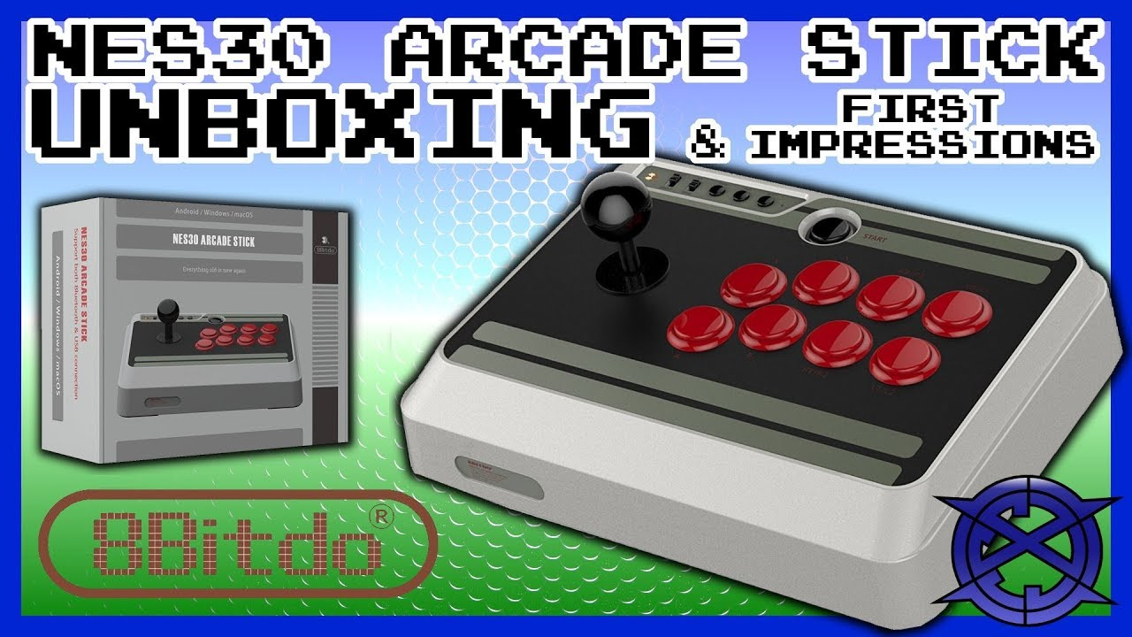 NES30 Arcade Stick by 8bitdo | Unboxing | First Impressions