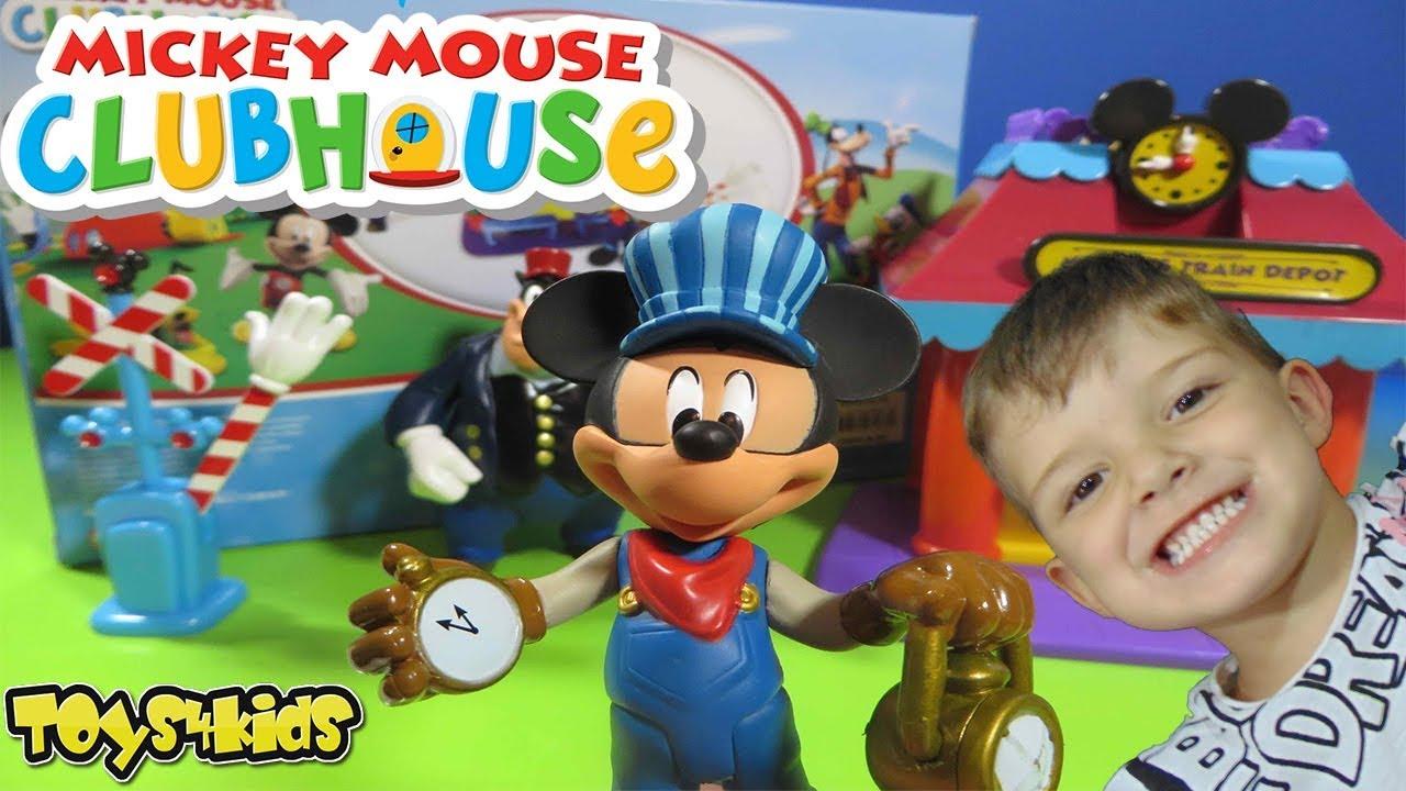 05b42077854 Ο Μάριος Στον Σταθμό Τρένων του Μίκυ Μάους παιχνίδια για παιδιά βίντεο  διασκέδαση ελληνικά