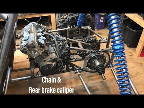 Honda CBR 600 buggy build part 8