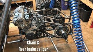 Honda CBR 600 buggy build part 8