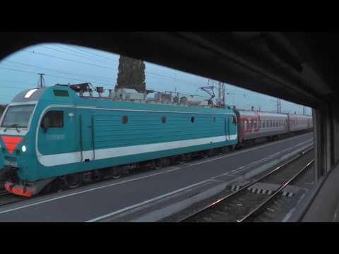 Ранним утром из окна поезда   Мичуринск-Уральский — Богоявленск
