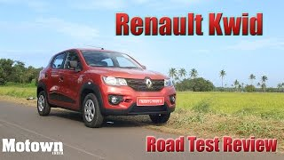 2015 Renault Kwid | First Drive | Road Test Review | Motown India