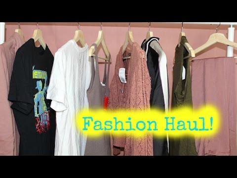 Fashion Haul!