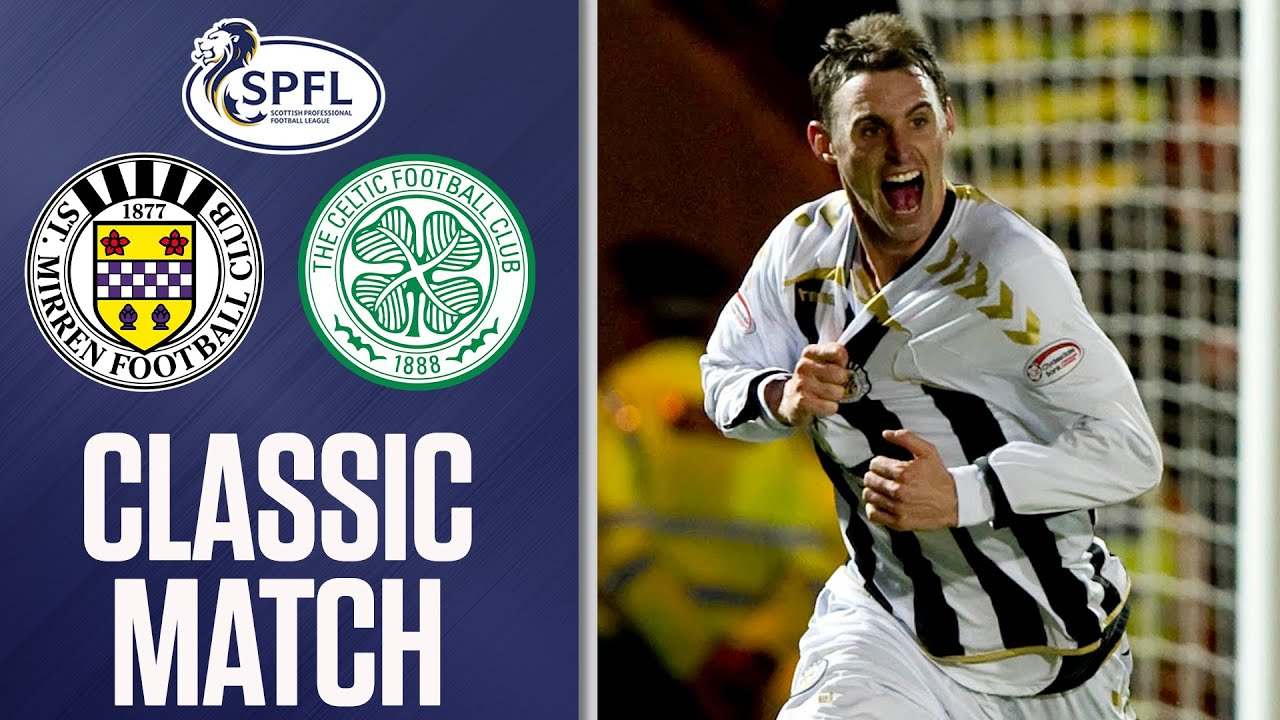 Classic Match St Mirren 4 0 Celtic 24 03 2010 Youtube