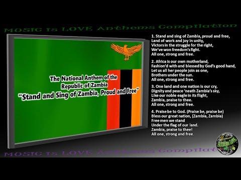 Zambia National Anthem INSTRUMENTAL with lyrics