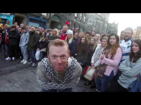 Scotland, Edinburgh - Street Performance by Todd Various