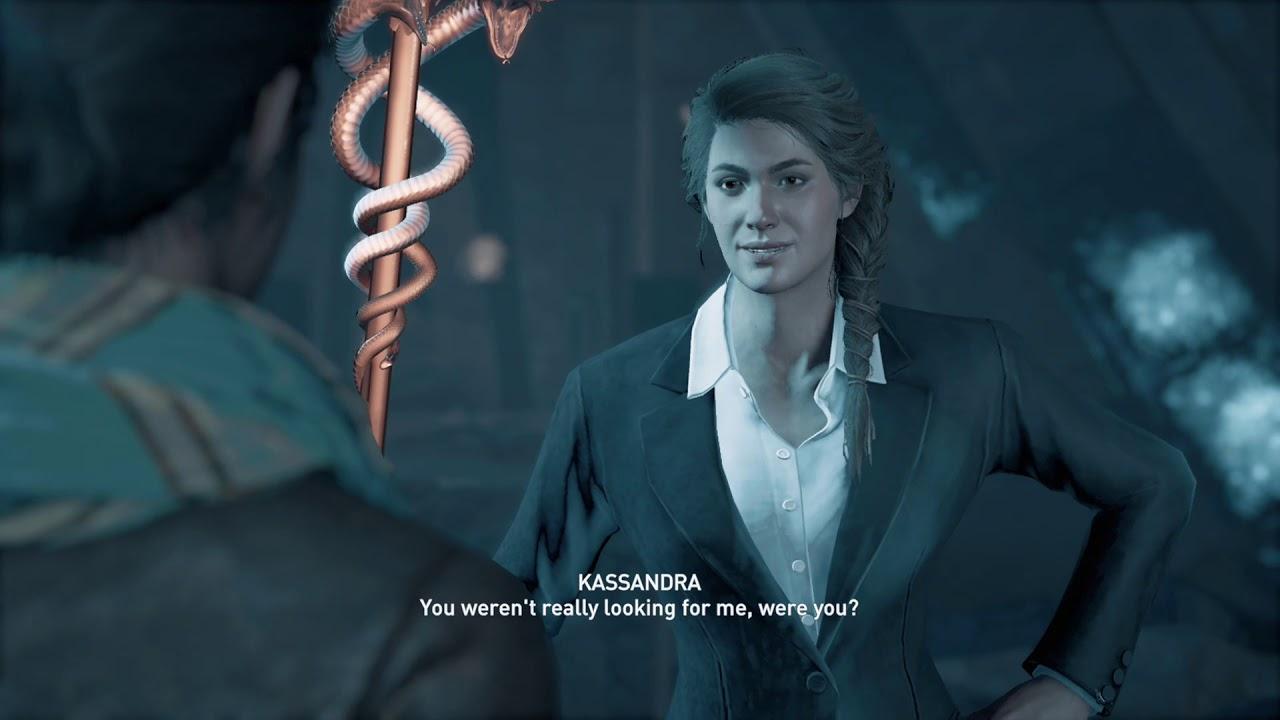 Layla Meets Kasssandra Assassin S Creed Odyssey Youtube