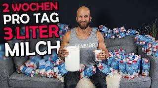 3 Liter Milch am Tag für 14 Tage - Das Experiment