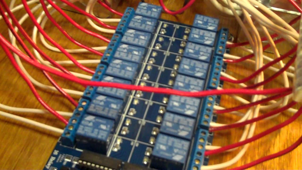 christmas lights control system - part 6