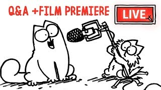 New short PREMIERE and Q&A with Simon! - Simon's Cat | LIVE