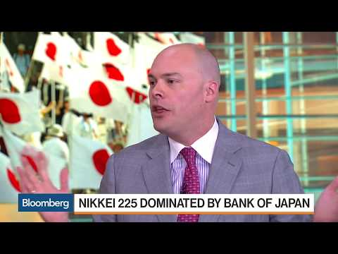 Crazy BOJ Buys Up Nikkei 225