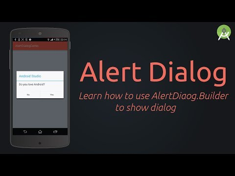 Create AlertDialog -  Example | Android Studio