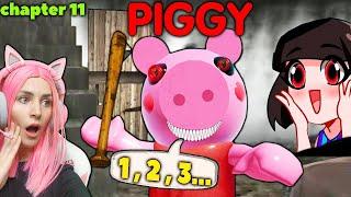 УБЕГАЕМ от СВИНКИ ПИГГИ Roblox | ЖЕНЯША и МАШКА УБИВАШКА | Прохождение игры Piggy Roblox на русском!