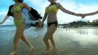 Ngắm girl xinh ngoài bãi biển với Insta360 nano