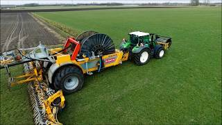 Sleepslang / Slurry Injection /  Gülle injektion / Veenhuis Rotomax / Fendt /