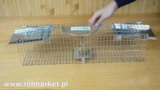 Jak łapać szkodniki? Żywołapka, pułapka na szczury, kuny, lisy, łasice www.rolmarket.pl