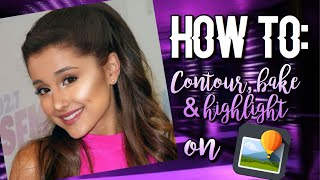 How to: Contour, bake & highlight on Superimpose 💜