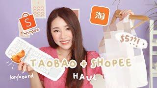 RANDOM SHOPEE TAOBAO HAUL 2021: Tech, Clothes And More!   MONGABONG