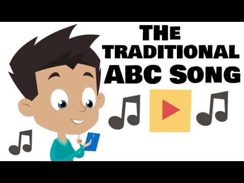 The Traditional ABC Song | Music for Toddlers and Kindergarten