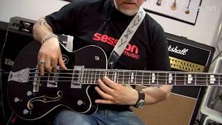 Gretsch G5440LSB Electromatic Hollow Body Long Scale Bass RW BK