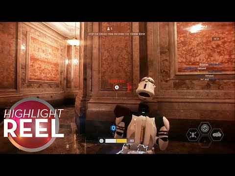 Highlight Reel #338 - Battlefront II Trooper Is A Real Airhead