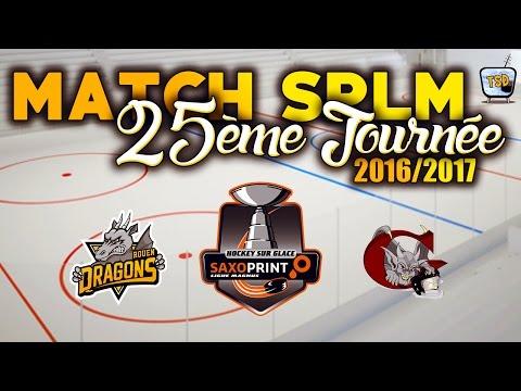 Hockey : Rouen - Amiens Ligue Magnus 2016/2017 match 25