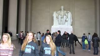Lincoln Memorial inside - Washington D.C. - December 19, 2013