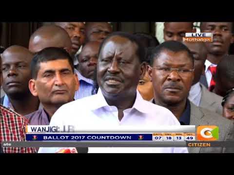 Raila Odinga :  Leave Jimi Wanjigi alone