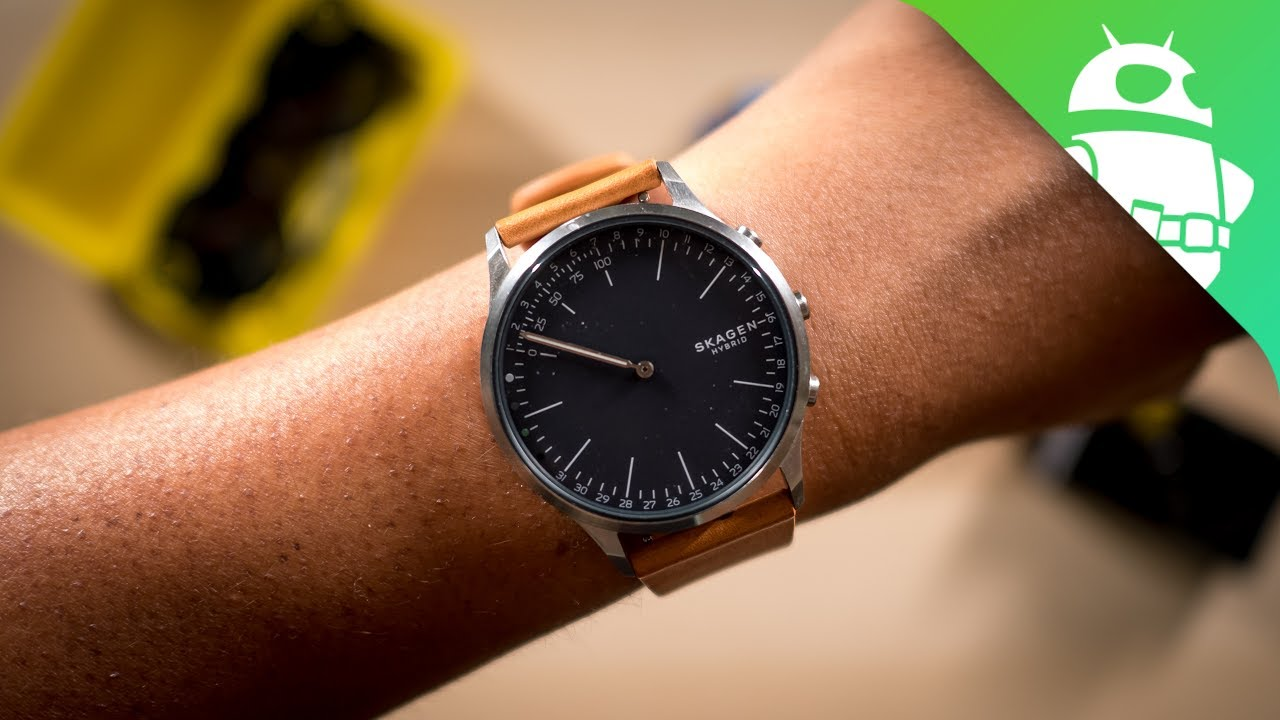 Do Smartwatches Still Matter Skagen Jorn Hybrid Smartwatch Review