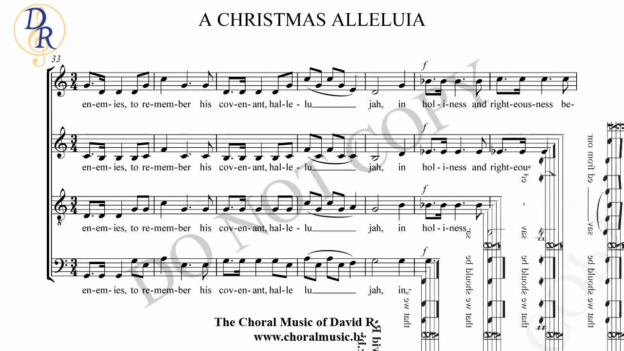A Christmas Alleluia - YouTube