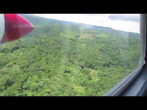 White Knuckle Plane Landing - Playon Chico, San Blas Islands - Kuna Yala, Panama