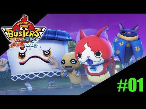 Yo-Kai Watch Busters:  White Dog Team - #01 creando el cuartel